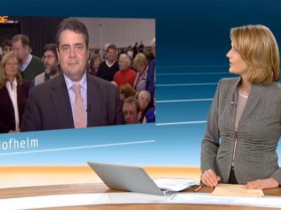 Ist Slomka zu weit gegangen? Die Moderatorin sieht sich «zuständig fürs Unangenehme». Foto: ZDF