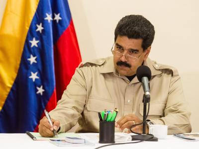 Pr�sident Maduro