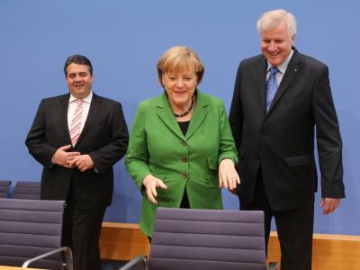 Für die Wähler von Union und SPD ist die Sache klar: Wenn es nach ihnen ginge, könnte die große Koalition starten. Foto: Wolfgang Kumm