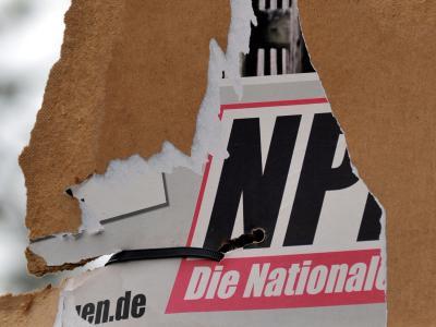 NPD-Wahlplakat