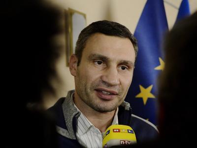 Vitali Klitschko: «Wir wollen nicht nur irgendwelche Minister auswechseln, sondern das politische System ändern.» Foto: Filip Singer