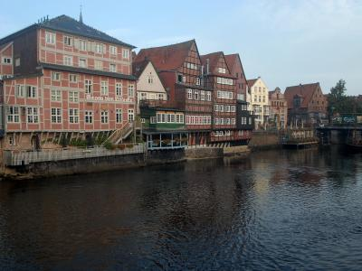 Brand in Lüneburg