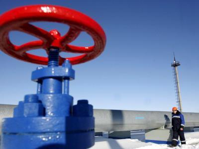 2009 hatte ein «Gaskrieg» zwischen der Ukraine und Russland zu wochenlangen Lieferengpässen auch in der EU geführt. Foto: Maxim Shipenkov