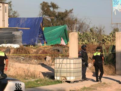 Räuber haben einen Behälter mit Kobalt-60 aufgebrochen und die extrem radioaktive Substanz auf freiem Feld zurückgelassen. Foto:Str