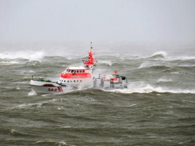 Das Seenotrettungsboot