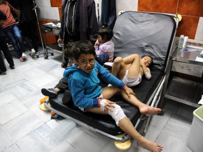 Kinder aus Damaskus