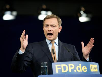 Der neue FDP-Vorsitzende Christian Lindner. Foto: Kay Nietfeld