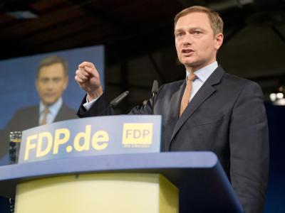 Die neue Hoffnung der FDP: Christian Lindner. Foto: Maurizio Gambarini