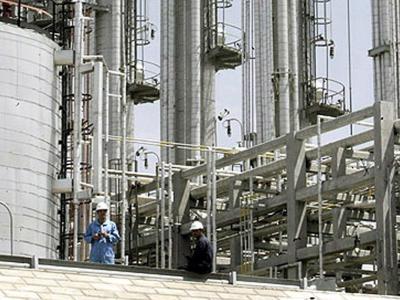 Schwerwasser-Anlage in Arak