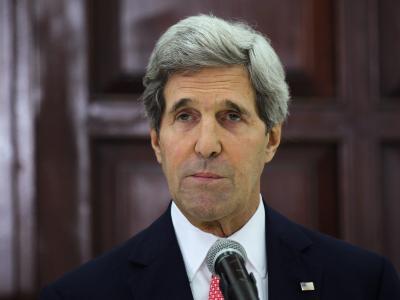 John Kerry: «Die größte Sicherheit wird durch eine Zwei-Staaten-Lösung erzielt werden, die Israel dauerhaften Frieden bringt.» Foto: Atef Safadi