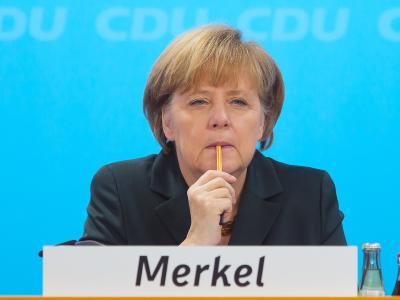 165 Delegierte der CDU sagen Ja zur großen Koalition, zwei enthalten sich: Eine erneute Machtdemonstration für Merkel. Foto: Hannibal