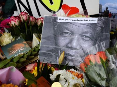 Trauer um Mandela