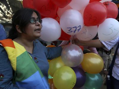Der Paragraf 377 spaltet Indien. Foto:Divyakant Solanki