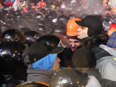 Vitali Klitschko gilt als frische Kraft in einer von Korruption und persönlichen Angriffen geprägten Politszene. Foto:Sergey Dolzhenko