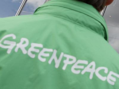 Greenpeace-Aktivist