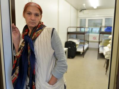 Erstaufnahmestelle für Flüchtlinge
