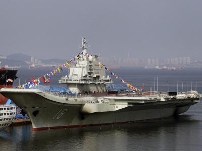 Chinesischer Flugzeugträger «Liaoning»