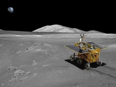 Chinesisches Mondfahrzeug �Jadehase�