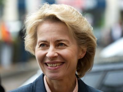 Die amtierende Bundesarbeitsministerin Ursula von der Leyen soll einem Medienbericht zufolge neue Innenministerin werden. Foto: Jochen Lübke