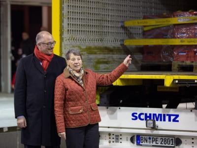 Jan Stöß und Barbara Hendricks