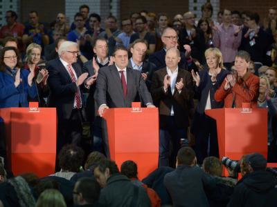 SPD-Spitze in Berlin