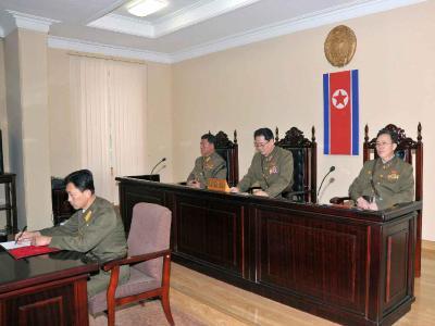 Nordkoreanische Beamte, die direkt mit dem hingerichteten Jang Song Thaek zu tun hatten, müssen befürchten, nicht mehr ins Ausland reisen zu dürfen. Foto:Rodong Sinmun