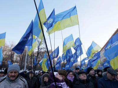 Russlandfreundliche Demonstration