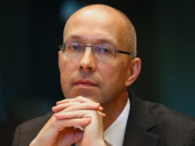 EZB-Direktor Jörg Asmussen. Foto:Julien Warnand