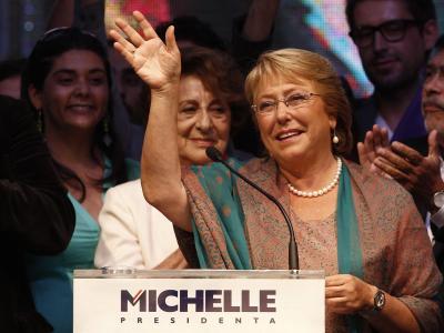 Michelle Bacheletist in Chile zur Staatschefin gewählt worden. Foto: Marcelo Hernandez