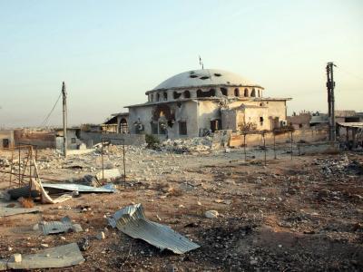 Zerstörung in Aleppo. Bei neuen Angriffen starben wieder viele Menschen (Archivbild). Foto: Sana Handout