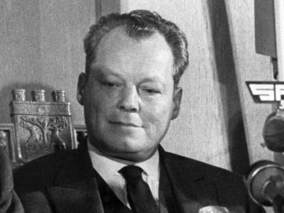 Willy Brandt: «Politik besteht immer aus Kompromissen. Aber Kompromisse mit Sozialdemokraten sind die besseren.» Foto: Archiv