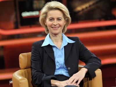 Ursula von der Leyen in der ARD-Talkreihe «Günther Jauch». Foto: Paul Zinken