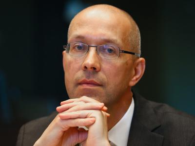 Noch EZB-Direktor: Jörg Asmussen wird überraschend Staatssekretär im Bundesarbeitsministerium. Foto:Julien Warnand/Archiv