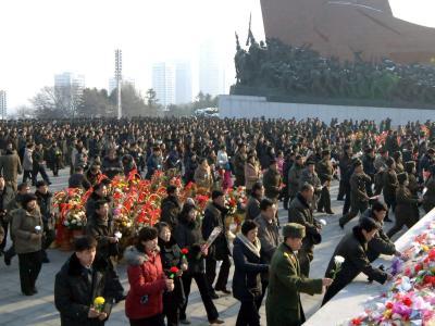 Feiern in Pjöngjang