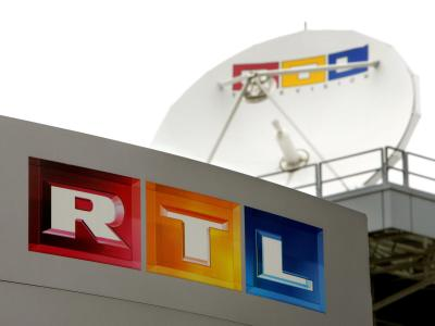 Parabol-Antenne auf dem Dach des Fernsehsenders RTL in Köln. Foto: Rolf Vennenbernd/Archiv