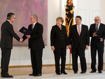 Ernennung der neuen Regierung