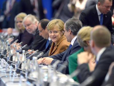 Bundeskanzlerin Angela Merkel forderte kurz vor dem Spitzentreffen von den EU-Staaten stärkere Anstrengungen bei der Umsetzung ihrer Reformversprechen. Foto: Rainer Jensen/Archiv