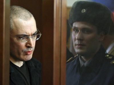 Der ehemalige Vorstandschef der russischen Ölfirma Yukos, Michail Chodorkowski. Foto: Sergei Ilnitsky