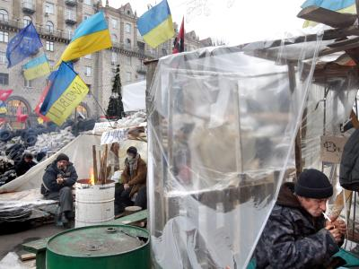 Die EU hält an dem Vorhaben fest, die Ukraine mit einem Assoziierungsabkommen näher an sich zu binden. Foto: Tatyana Zenkovich