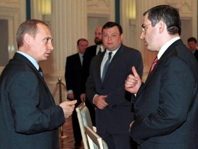 Putin und Chodorkowski