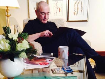 Chodorkowski im «Adlon»