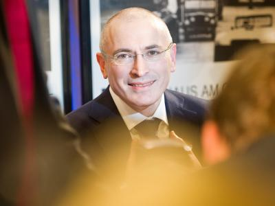 Chodorkowski hat sich eine Abrechnung mit Putin gespart. Foto: Ole Spata