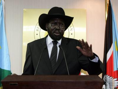 Hintergrund der Unruhen im Südsudan ist ein Machtkampf von Präsident Salva Kiir mit seinem entlassenen Stellvertreter Riek Machar. Foto: Phillip Dihl/Archiv