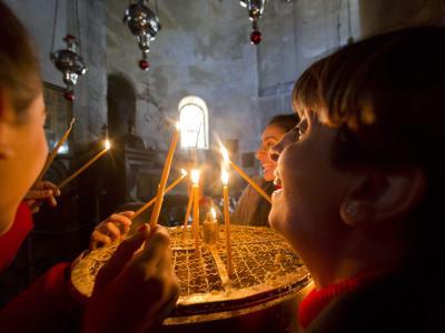 Die Geburtskirche in Bethlehem ist eine der ältesten Kirchen weltweit. Foto: Jim Hollander
