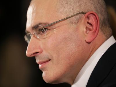Der russische Kreml-Kritiker Michail Chodorkowski. Foto: Michael Kappeler