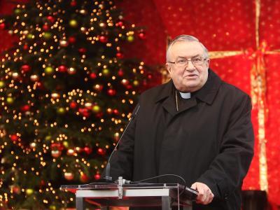 Kardinal Karl Lehmann hat in seiner Weihnachtspredigt zum Geben und Verzeihen aufgerufen. Foto: Fredrik von Erichsen/Archiv
