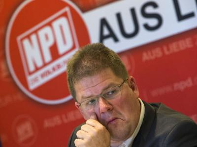 Die rechtsextremistische NPD steckt tief in der Krise. Foto: Jens Büttner/Archiv