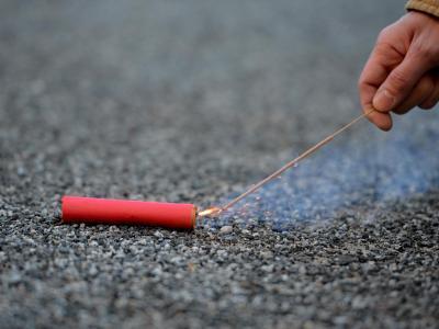 Feuerwerkskörper aus dem Ausland können ein «nicht zu überschauendes Risiko» sein. Foto: Britta Pedersen/Illustration