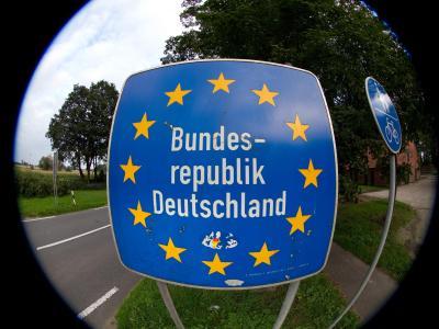 Grenzschild
