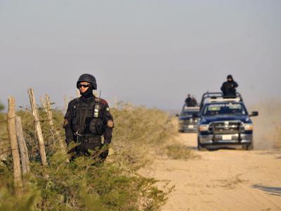 Polizisten in Mexiko
